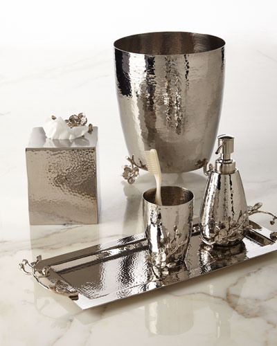 White Orchid Vanity Accessories
