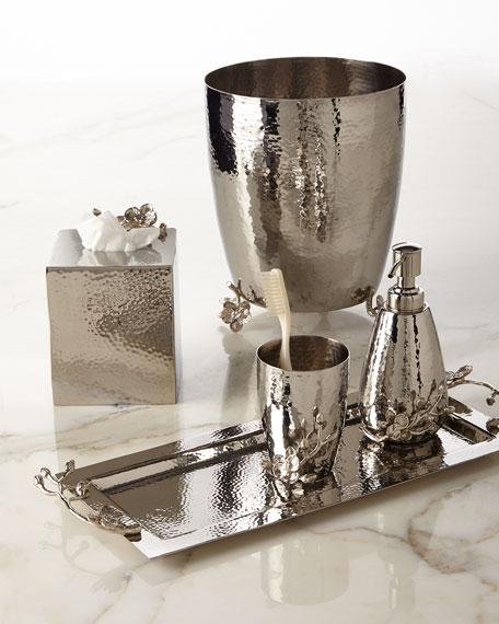 White Orchid Pump Soap Dispenser
