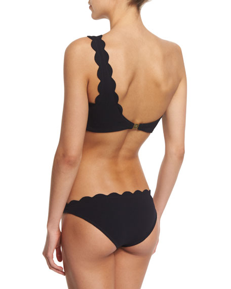 Santa Barbara One-Shoulder Swim Top