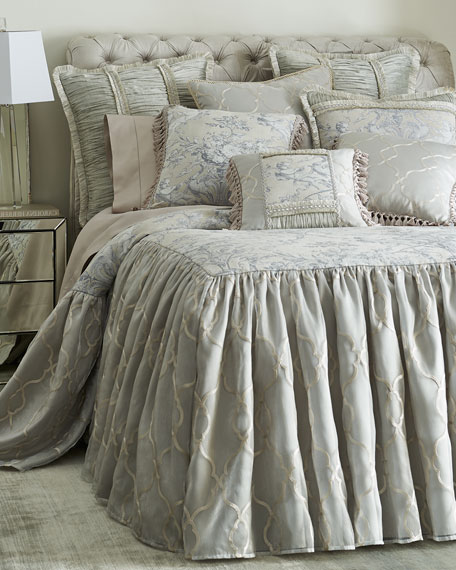 Sweet Dreams King Gabriella Skirted Coverlet