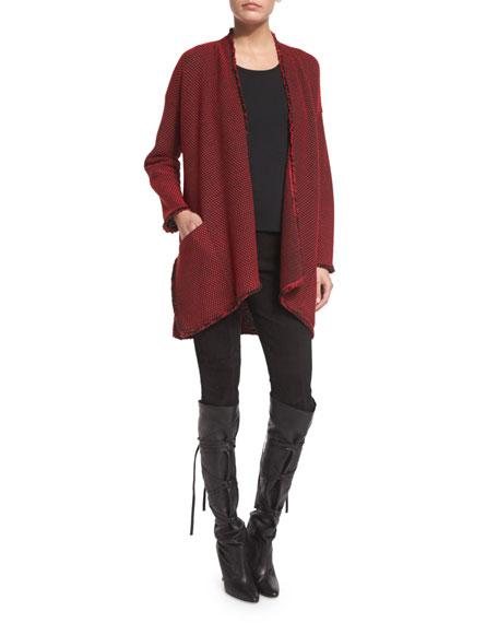 St. John Collection Punto Riso Knit Artisan Jacket,
