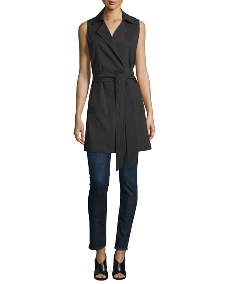 Eileen Fisher Fisher Project Sleeveless Trenchcoat