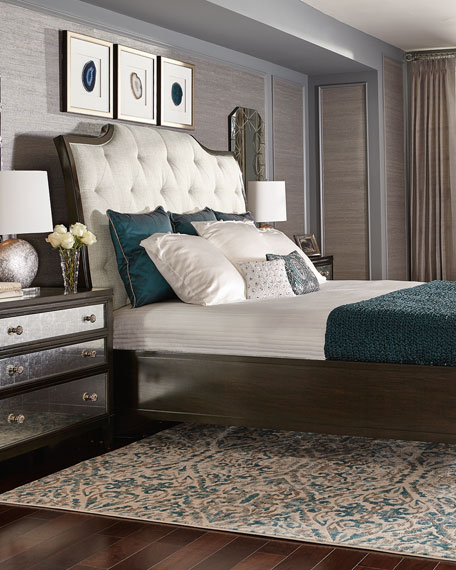Sutton House Tufted King Bed