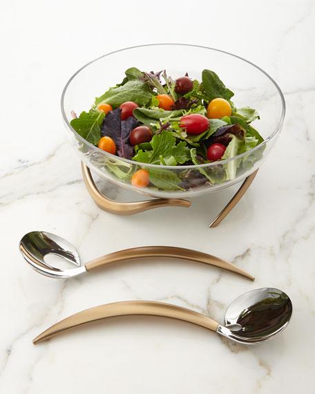Nambe Eco Salad Servers