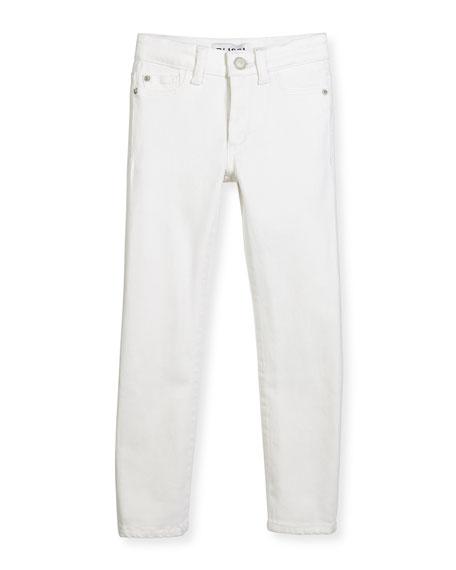 DL1961 Premium Denim Chloe Stretch Skinny Jeans, Snow,