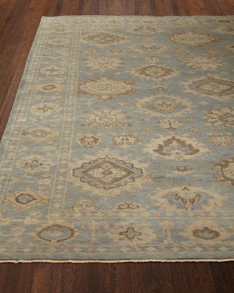 Exquisite Rugs Gladstone Oushak Rug, 9' x 12'