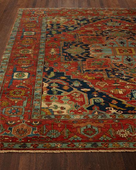 Exquisite Rugs Maida Serapi Rug, 6' x 9'