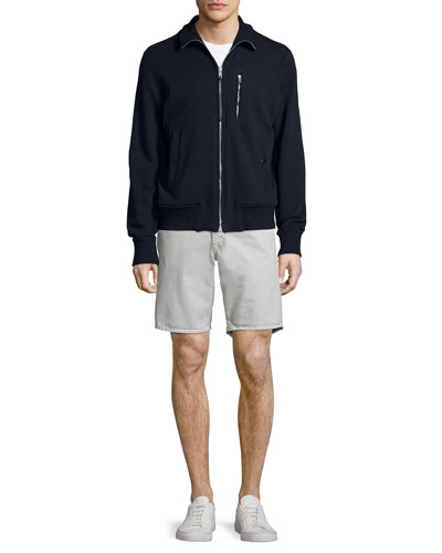 Trooper Full-Zip Track Jacket & Standard Issue Twill Shorts