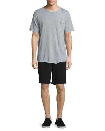 Fabian Short-Sleeve Jersey Tee & Standard Issue Drawstring Sweat Shorts