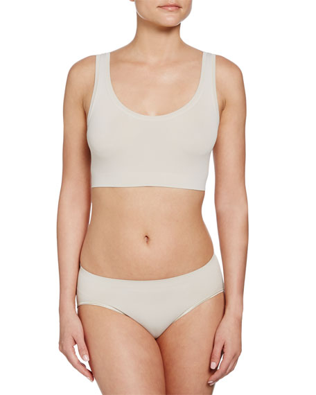 Hanro Touch Feeling Crop Top, Sand