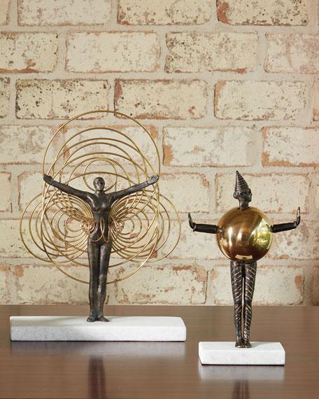 Bauhaus Sphere Woman Sculpture
