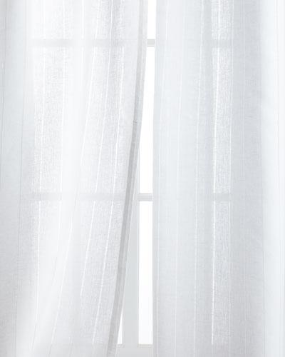 Hemstitch Stripe Curtains