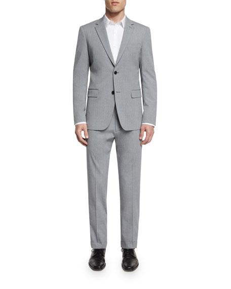 Theory Wellar New Tailor Wool Blazer, Gray