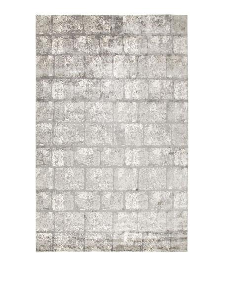 Silver Gem Rug, 8' x 10'