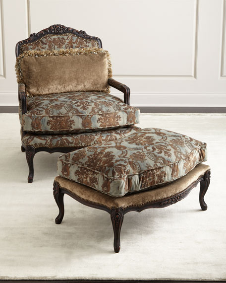 Old Hickory TanneryBedelia Bergere Ottoman