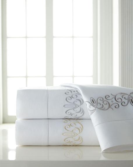 Queen Ardyn 400TC Embroidered Sheet Set