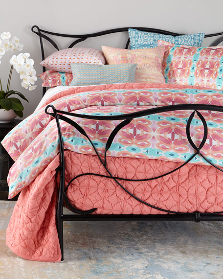 Bunglo King Rose Field Duvet Cover
