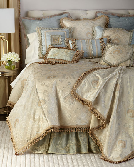 King Crystal Palace Duvet Cover