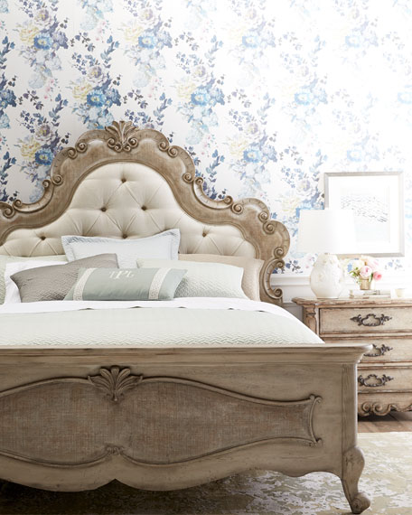Estelline King Upholstered Panel Bed