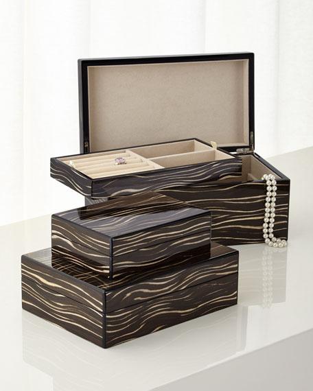Java Wenge Small Storage Box