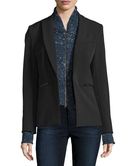 Veronica BeardScuba Jacket, Black