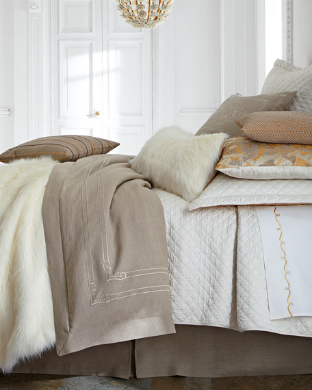King Reversible Quilted Coverlet