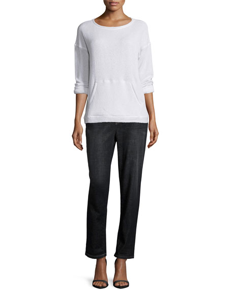 Eileen FisherTwisted Organic French Terry Top