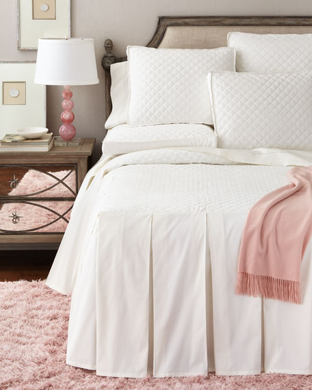 Queen Camden Skirted Bedspread