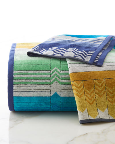 Missoni Stan Hand Towel: Missoni Home Products : Pillows & Towels At Neiman Marcus