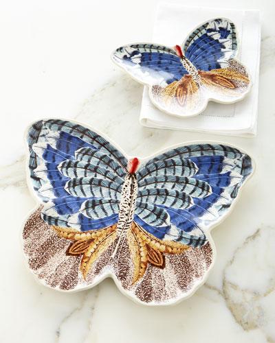 Forest Walk Butterfly Plate & Platter