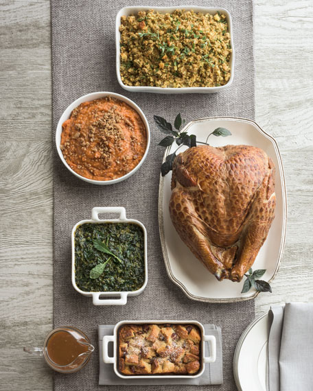 Hickory-Smoked Turkey Breast Meal, For 6-8 People