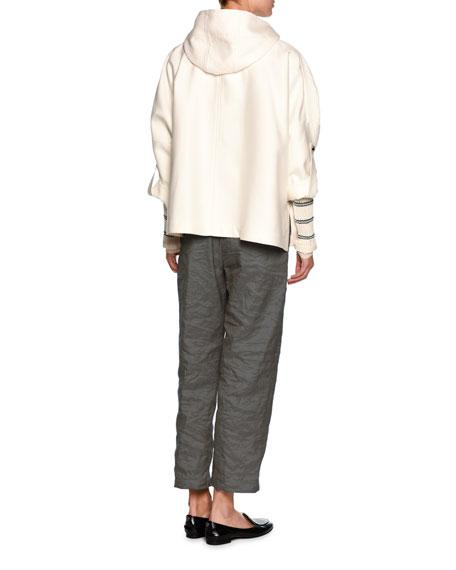 Striped Crewneck Sweater, Off White