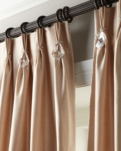 Pinch-Pleat Curtains