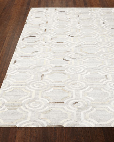 Woodbridge Leather Rug
