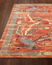 "Imperial Persimmon Rug, 9'3"" x 13'"