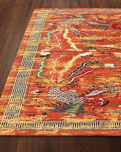 Imperial Persimmon Rug