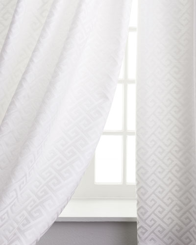 Greek Key Curtains