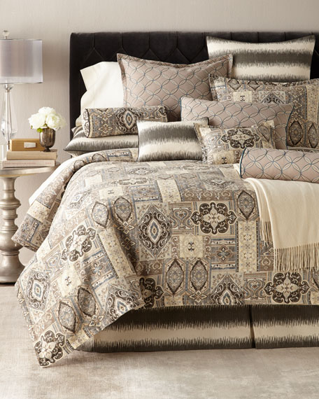 King Phoebe Embroidered Circle Sham