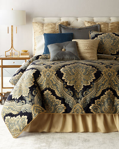 Navy Chenille Bedding