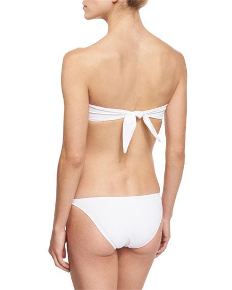 Gathered Bandeau Swim Top