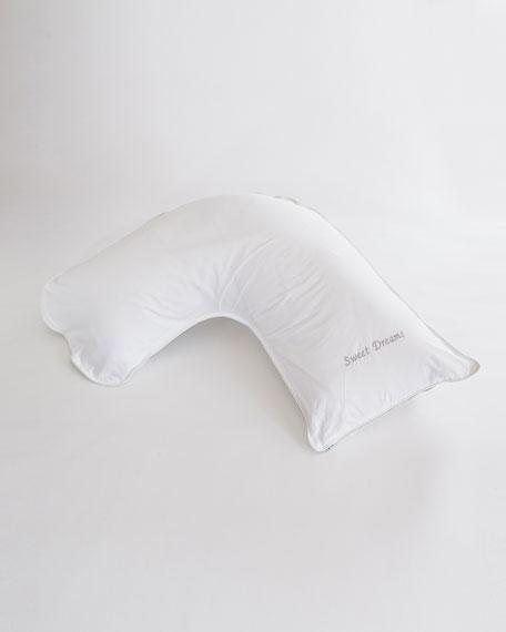 """Side Sleeper Down Pillow, 13.75"""" x 45"""""""