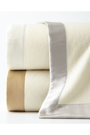 Home Treasures SERENA KING CASHMERE BLANKET Queen Serena Cashmere Blanket