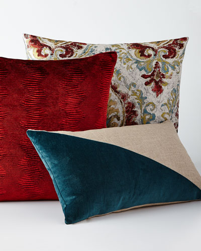 Red and Blue Pillows