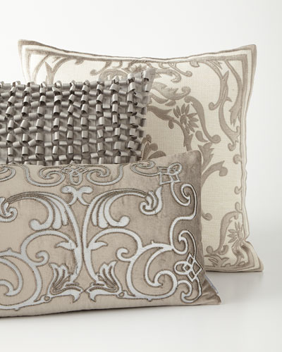 Gray & Pewter Decorative Pillows