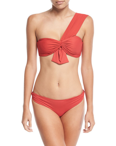 Venice Twisted-Side Swim Bikini Bottom