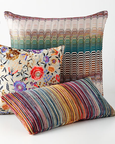 missoni home celebrating cities pillows. Black Bedroom Furniture Sets. Home Design Ideas