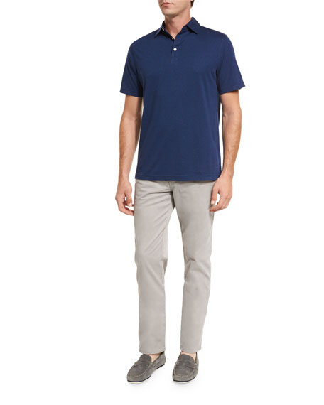 Crown Melange Polo Shirt