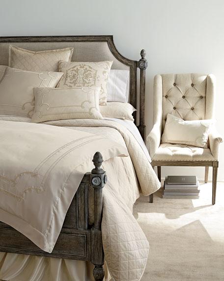 Juliet Tufted King Panel Bed