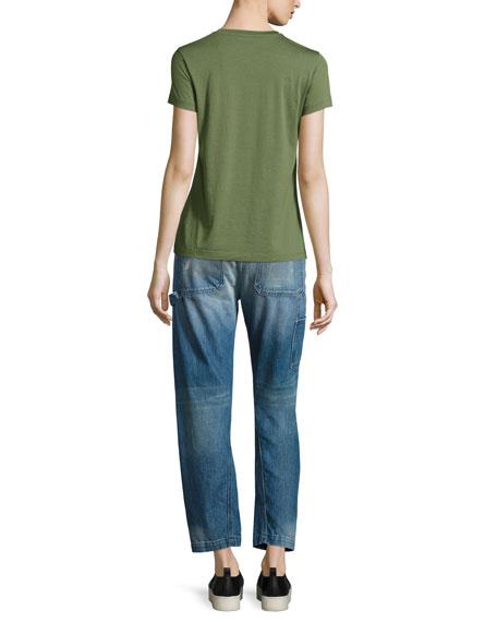 Slouch Carpenter Jeans, Medium Blue