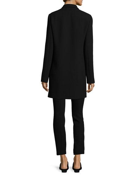 Losso Skinny Wool Pants, Black